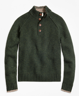Brooks Brothers Wool Mockneck Sweater