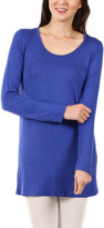 Lily Indigo Scoop Neck Top