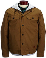 Billabong Trenton Heavyweight Hooded Denim Workwear Jacket