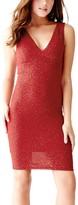 GUESS Women's Jenelle Sparkle Midi Dress