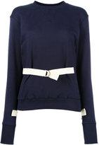 J.W.Anderson belted sweatshirt