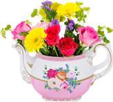 Talking Tables Floral teapot vase