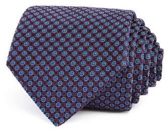 Giorgio Armani Neat Circle-Medallion Silk Classic Tie