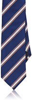 Barneys New York Men's Diagonal-Striped Woven Necktie