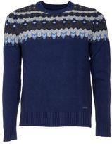 Woolrich Jacquard Knitted Jumper