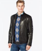 Andrew Marc Moto-Style Leather Jacket