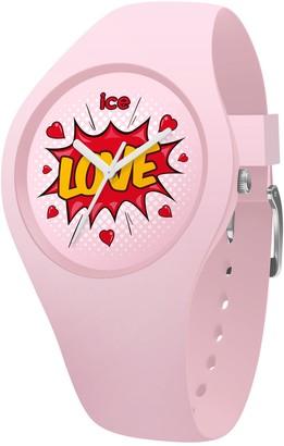 Ice Watch Ice-Watch - ICE love Splash - Women's wristwatch with silicon strap - 015268 (Small)