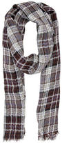 Loro Piana Plaid Print Scarf