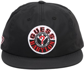 GUESS Babylon Nylon Sports Hat