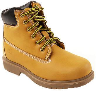 Deer Stags Little/Big Kid Boys Mak2 Waterproof Insulated Block Heel Wide Width Work Boots