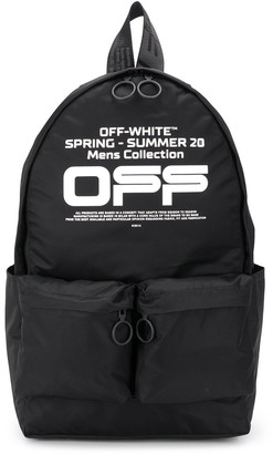 Off-White Seasonal Logo Backpack
