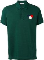 Moncler chest logo polo shirt - men - Cotton - XL