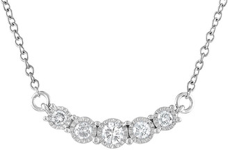 Diana M Fine Jewelry 14K 0.52 Ct. Tw. Diamond Necklace