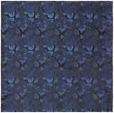 Kenneth Cole Trent Fan Design Silk Pocket Square