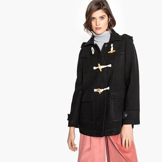 La Redoute Collections Hooded Duffle Coat with Pockets