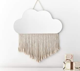 Pottery Barn Kids Cloud Fringe Mirror
