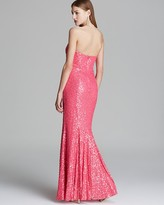 Mignon Gown - Sweetheart Sequin Godet