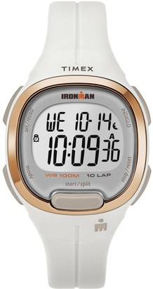 Timex Women's Ironman Transit White Resin StrapWatch