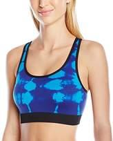 Spalding Women's Tie Dye Effect Seamless Bra