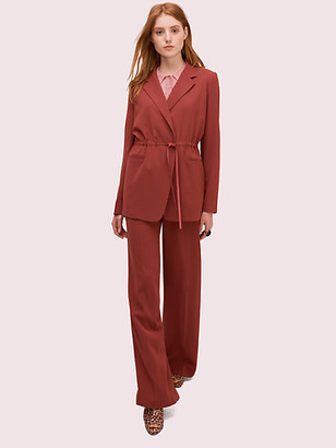 Kate Spade Draped Suiting Blazer