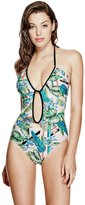 GUESS Factory Tropical One-Piece Swimsuit