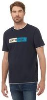 Animal Navy Logo Print T-shirt