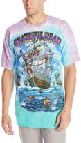 Liquid Blue Men's Grateful Dead Ship Of Fools T-Shirt, Multi