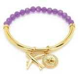 Juicy Couture Jet Set Charm Beaded Bracelet