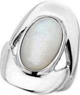 Nambe Nambandeacute; Mother-of-Pearl Oval Ring in Sterling Silver, Created for Macy's