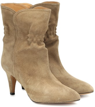 Isabel Marant Dedie suede ankle boots