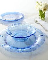 Juliska Four Delft-Blue Colette Dessert Plates