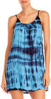Raviya Tie Dye Cutout Cover-Up Dress