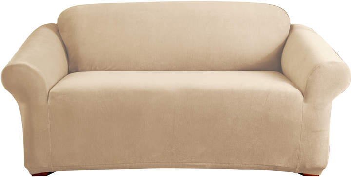 Sure Fit Ivory Stretch Pearson 2 Seater Sofa Cover