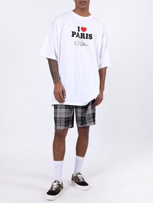 Alexander Wang Wool Tartan Shorts