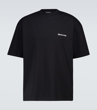 Balenciaga Medium-fit short-sleeved T-shirt