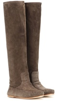 Tomas Maier Suede Boots