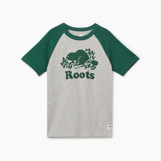 Roots Boys Cooper Beaver Raglan T-shirt