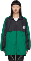 Off-White Off White Green and Black River Trail Jacket