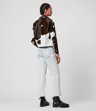 AllSaints Waver Ko Leather Jacket