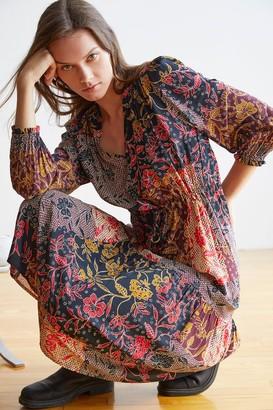 Velvet by Graham & Spencer Tweetie Printed Midi Dress