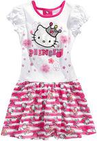Hello Kitty Kids Dress, Little Girls Princess Dress