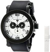 Swiss Legend Men's 30465-BB-02 Cyclone Analog Display Swiss Quartz Black Watch