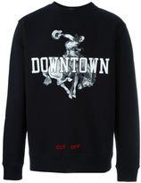 Off-White downtown print sweatshirt - men - Cotton - XS