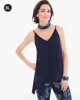 Chico's Asymmetrical Layer Tank