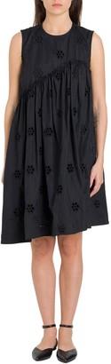 Simone Rocha Floral Sleeveless Dress