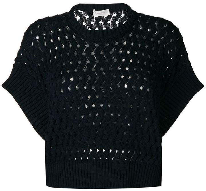 8ff2aa297 Perforation Sweater - ShopStyle