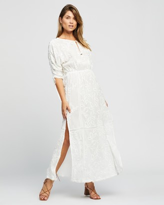 Tigerlily Women's White Maxi dresses - Isabella Maxi Dress - Size 10 at The Iconic