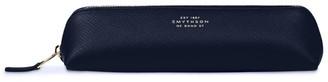 Smythson Leather Panama Pencil Case