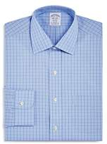 Brooks Brothers Houndstooth Grid Classic Fit Dress Shirt