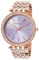 Michael Kors Women's Darci MK3400 Rose Gold Stainless-Steel Quartz Watch